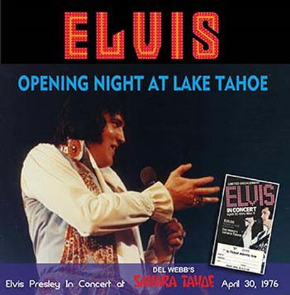 Opening Night At Lake tahoe CD.
