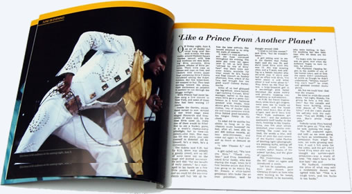 Brilliant 52-page booklet : Prince From Another Planet.
