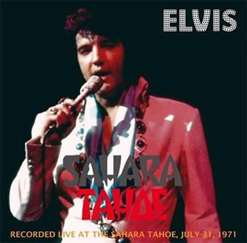 Sahara Tahoe: July 31st, 1971 Dinner Show CD.