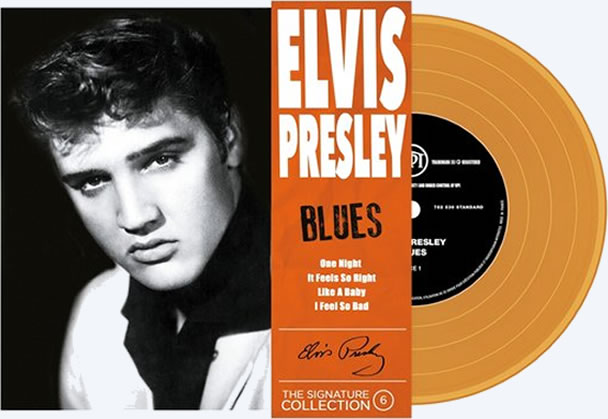 #6 (Blues) : The Elvis Presley 'The Signature Collection' is limited to 500 units numbered and remastered.