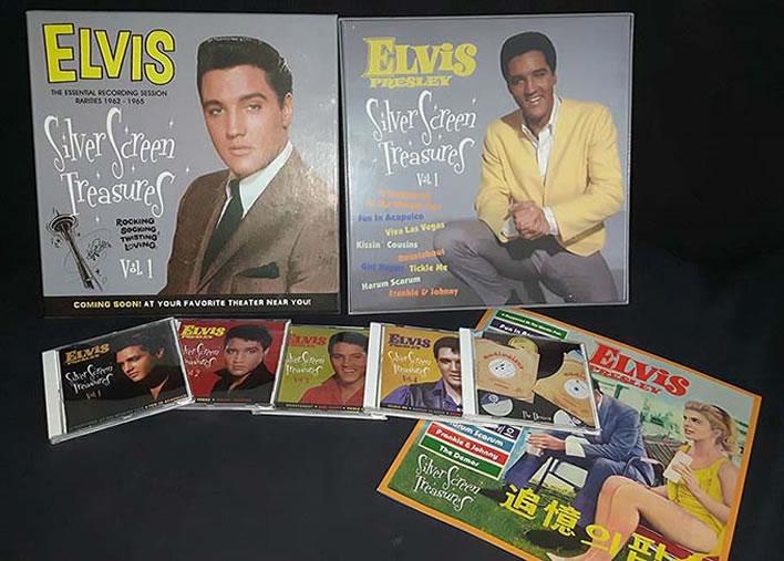 Elvis : Silver Screen Treasures 1962-1965 5 CD (LP Sized) Box Set.