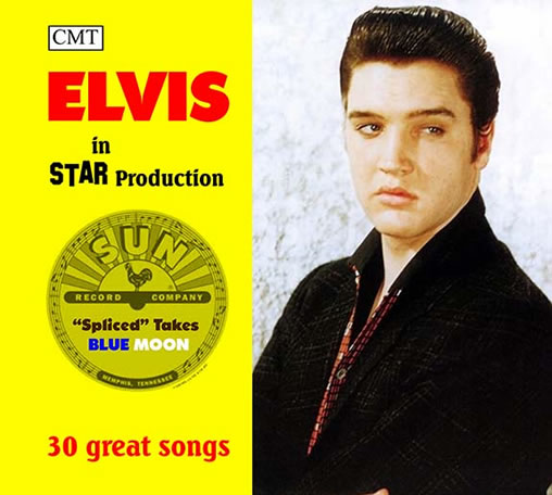 Elvis: 'Spliced Takes Blue Moon' CD.
