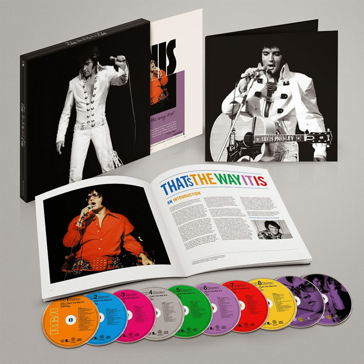 That's The Way It Is 8 CD + 2 DVD Box Set