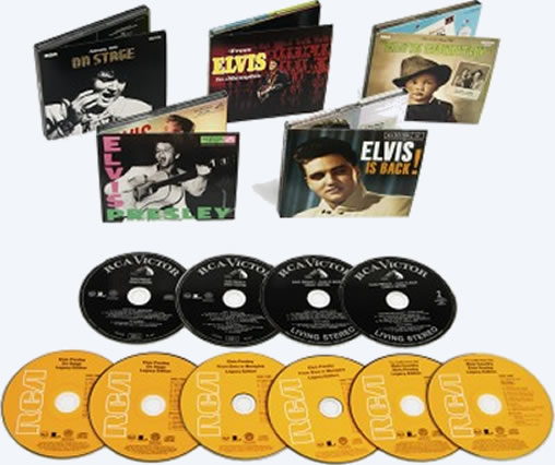 Elvis Presley Legacy Edition Release to January 2012.