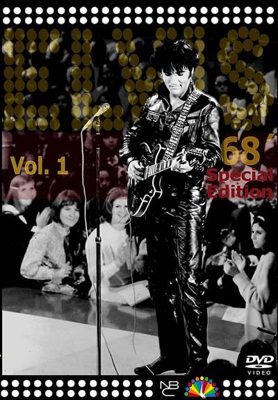 Elvis, '68 Special Edition Vol. 1 DVD.