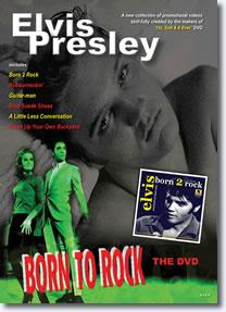 Elvis Born To Rock I DVD.