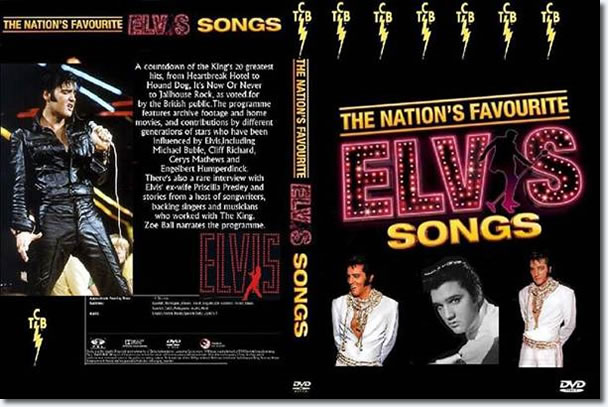Elvis : The Nation's Favourite Elvis Songs DVD