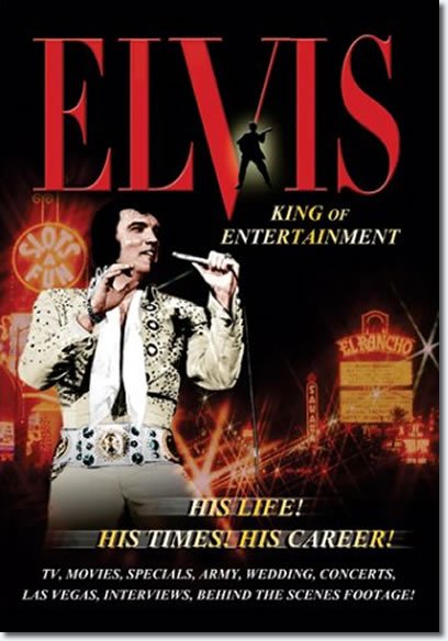 'Elvis: King of Entertainment' DVD