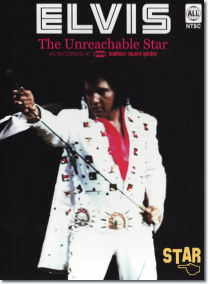 The Unreachable Star : 'As recorded at Madison Square Garden' DVD