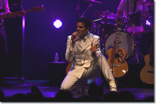 Anthony Petrucci as Elvis