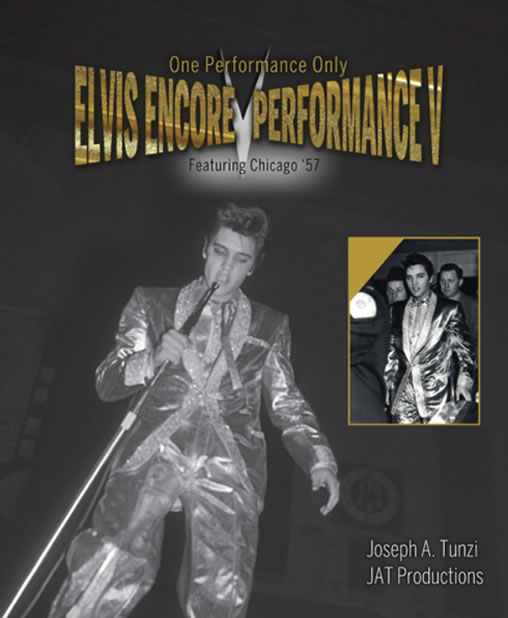 Elvis Encore Performance Volume V Hardcover Book.