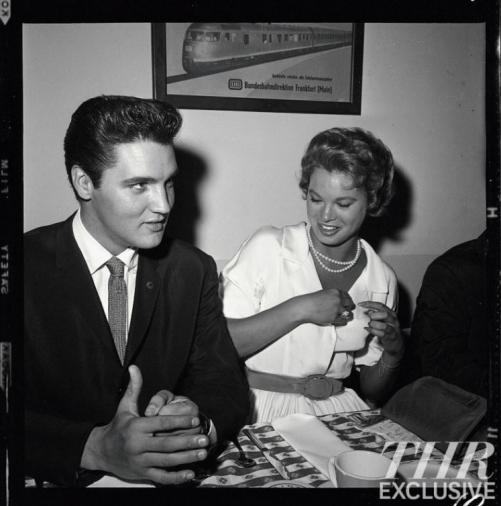Elvis Presley and Juliet Prowse