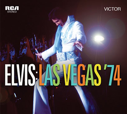 'Elvis Las Vegas '74' 2 CD Set from FTD.