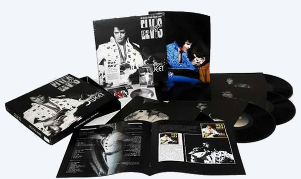 Elvis 'Not Too Sweet', Special 10 Year Standard Edition CD / Cassette / 4 LP.