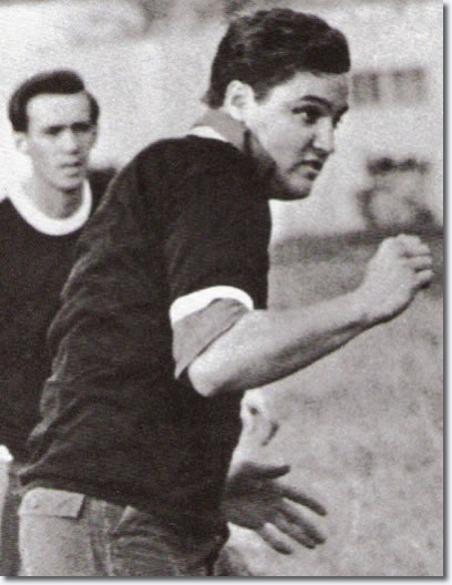 Elvis plays football, 1960s.