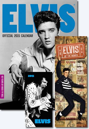 Elvis Presley Calendars 2015.