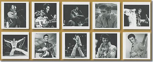 Elvis Presley : Music & Photo's Book, 2 CDs + Photos : The 10 photos.