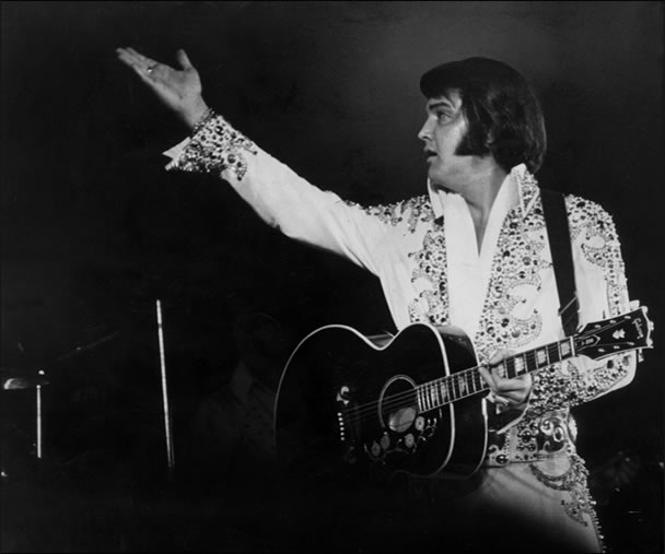 Elvis' March 1974 performances in Memphis were his last in his hometown.