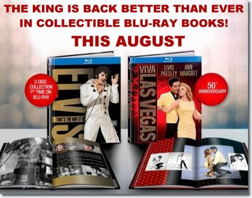 'Elvis: That's the Way It Is' Blu-ray.