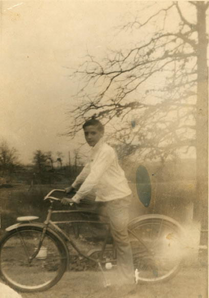 Elvis spent plenty of hours riding his bicycle around Tupelo.