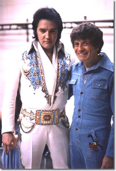 Elvis Presley and Jackie Kahane.