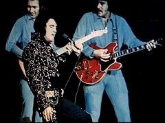 James Burton, Elvis, John Wilkinson.