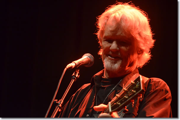 Kris Kristofferson, Palais Theatre, Melbourne, April 8, 2014.