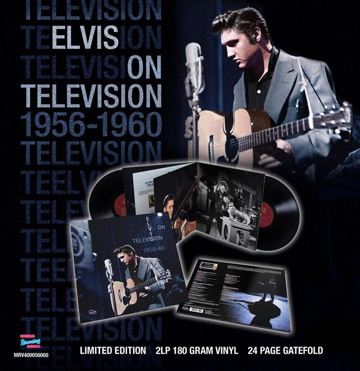 Elvis On Television 1956-1960: The Complete Sound Recordings (2LP 180 Gram Vinyl 24 Page Gatefold).
