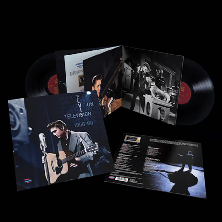 'Elvis On Television 1956-1960: The Complete Sound Recordings' double LP.