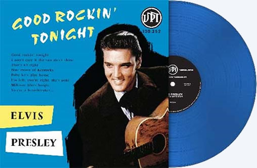 Good Rocking Tonight. 'Elvis Presley' Limited numbered Edition (10000 copies) LP Record BLUE Vinyl.