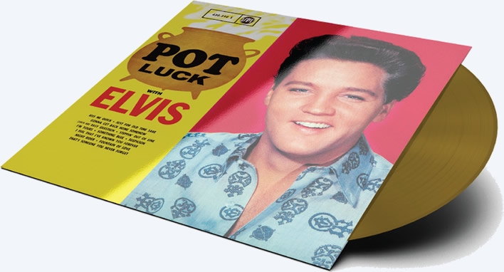 'Pot Luck' for 'Record Store Day' release on golden vinyl.
