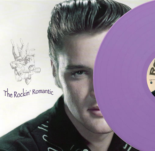The Rockin' Romantic LP on 180g Lilac Vinyl.