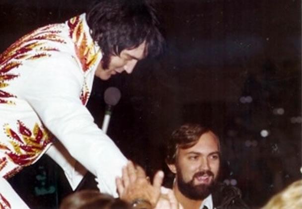 Elvis Presley and Sam Thompson.