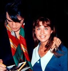 Elvis and Sandi Miller.