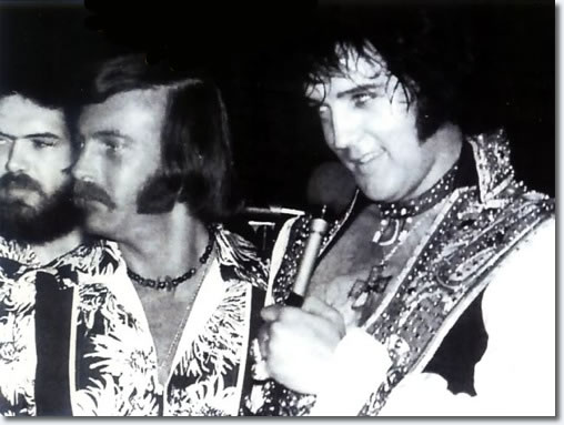 Sherrill (Shaun) Nielsen and Elvis Presley