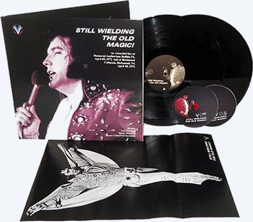 'Still Wielding The Old Magic!', a limited edition box set housed in a deluxe 350 grams gatefold sleeve.