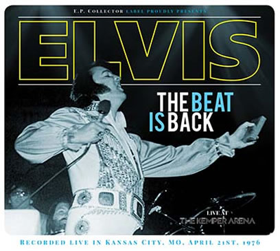 'The Beat Is Back' CD (Kansas City, MO, April 21st, 1976).