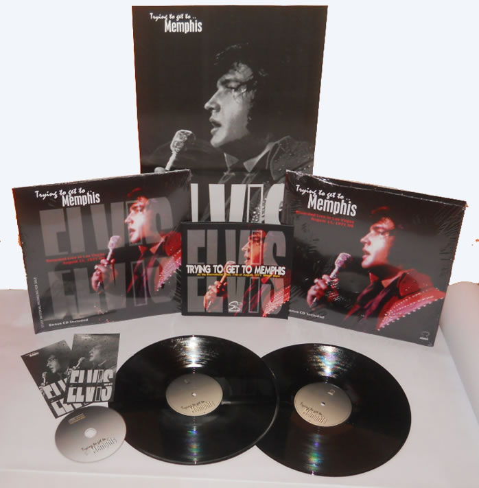 Trying To Get To..Memphis, Special Deluxe 10 Years Anniversary Edition 2 LP plus bonus CD.