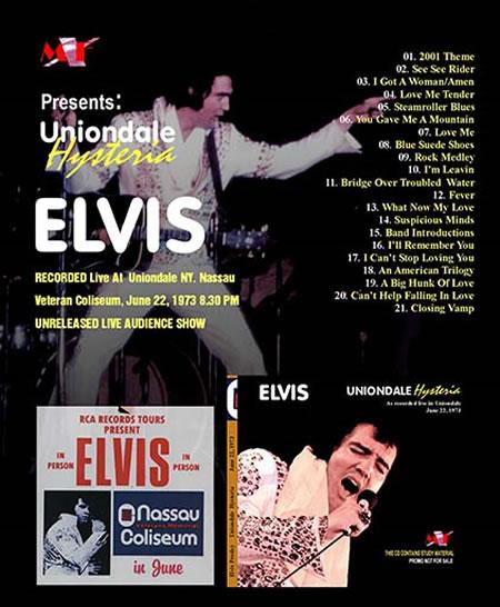 'Uniondale Hysteria' CD Uniondale, June 22, 1973 8.00 PM Show
