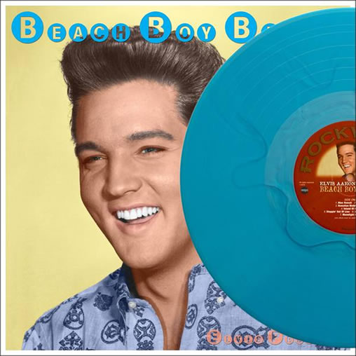 Beach Boy Blues 'Azure Blue Wave' Vinyl (Limited Edition 200 numbered copies).
