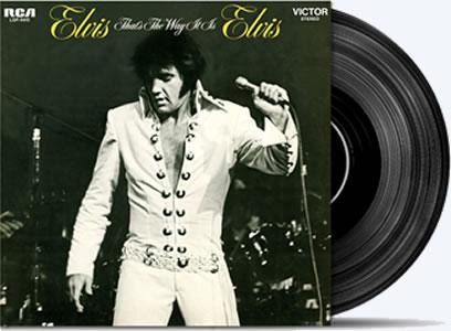 Elvis, That's The Way It Is 4-disc 180-gram Special Edition Vinyl LP Set