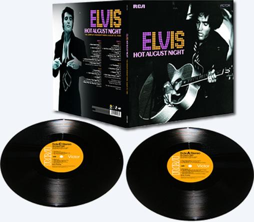 'Hot August Night' Limited Edition Vinyl 2-Disc Vinyl Set.