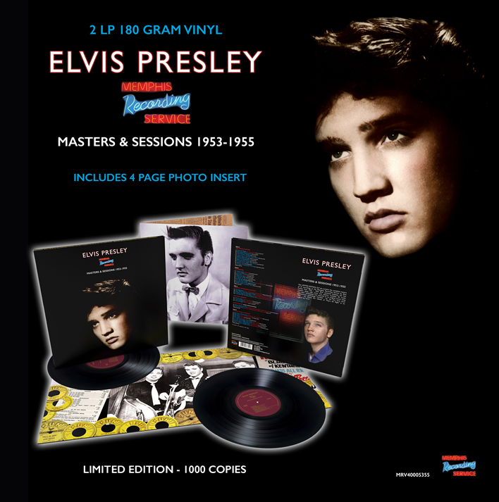 'Memphis Recording Service: Masters & Sessions 1953-1955' 2LP 180 Gram Vinyl.