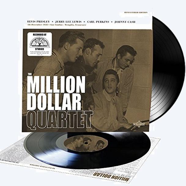'The Million Dollar Quartet' audiophile-quality double LP on 10-inch vinyl.