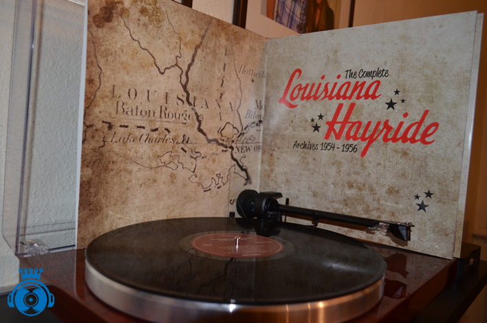 The Complete Louisiana Hayride Archives 1954-1956 2 LP 'Record Store Day' release 2016.