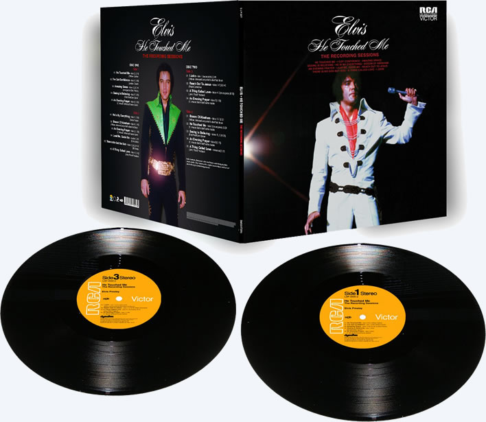 'He Touched Me' - The Recording Sessions Limited Edition 2 LP Vinyl.
