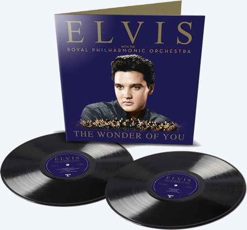 'The Wonder Of You: Elvis Presley With The Royal Philharmonic Orchestra', 2 x LP Record Set.