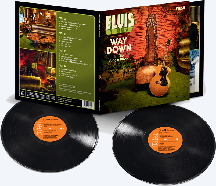 Elvis Presley : 'Way Down In The Jungle Room' 2 LP.