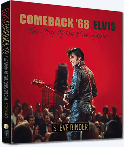 Comeback '68 | The Story Of The Elvis Special Book.