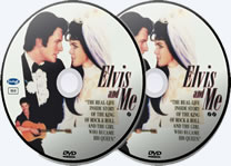 Elvis And Me DVD Discs.